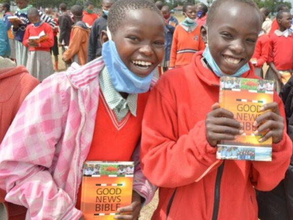 Bible Distribution During Corona